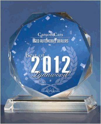 Best Dealer Award 2012